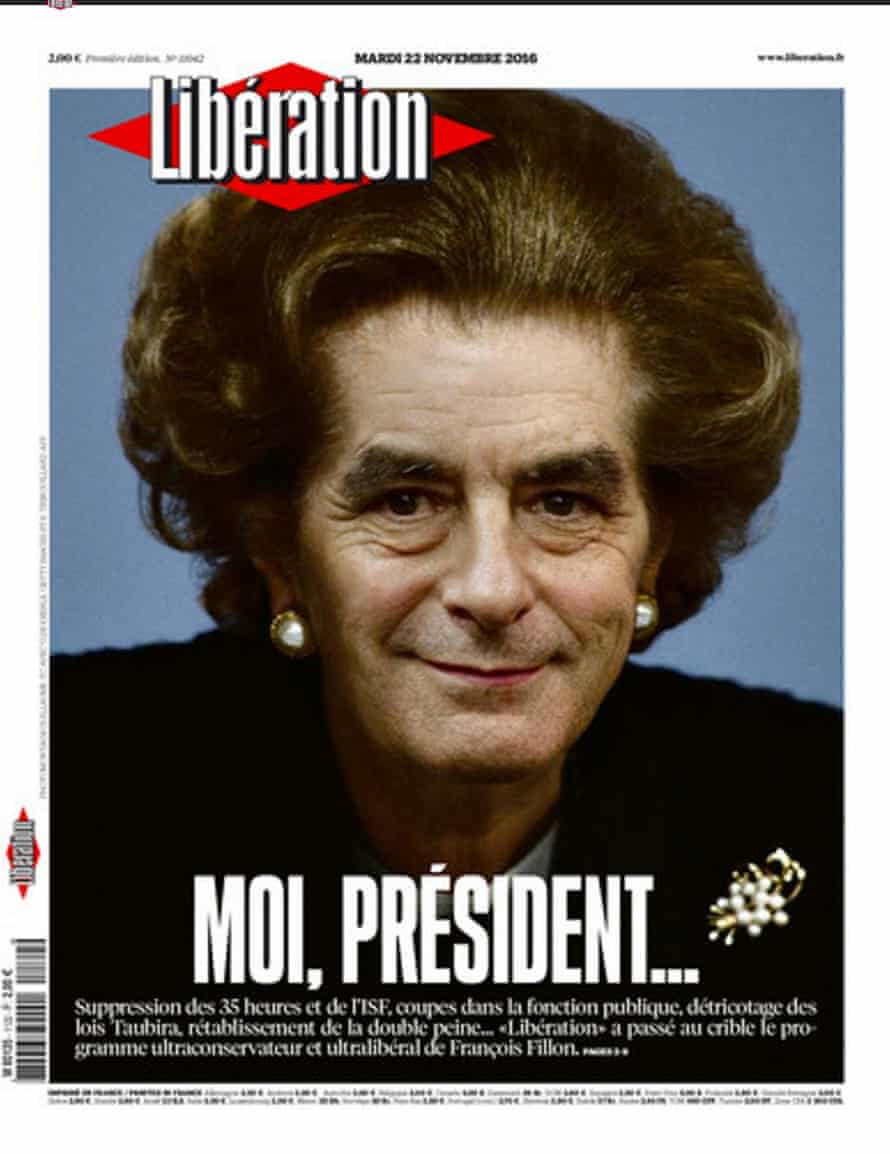 Liberation newspaper front page.