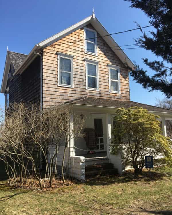 Lee Krasner and Jackson Pollock's house in Springs, Long Island.