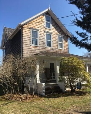 La casa de Lee Krasner y Jackson Pollock en Springs, Long Island.