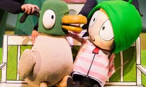 Very mellow … Sarah & Duck's Big Top Birthday.