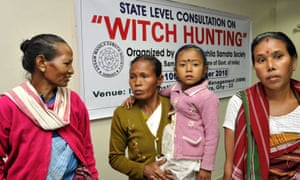 Victims of witch hunting in India attend a consultation in 2010 in Guwahati, north-east India.