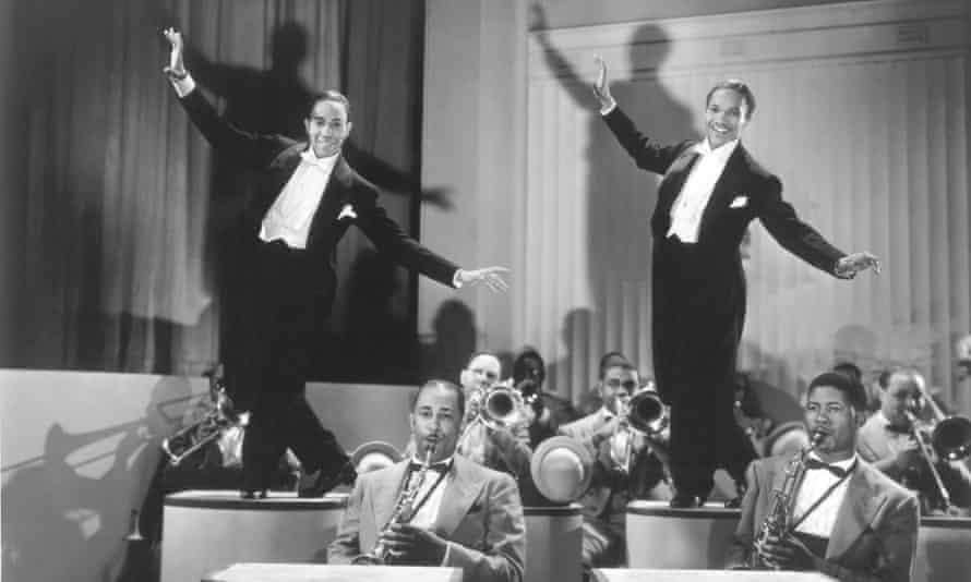 Astonishing … the Nicholas Brothers – Fayard, left, and Harold – in 1943's Stormy Weather. Photographs: Twentieth Century Fox Film Corporation/Photofest