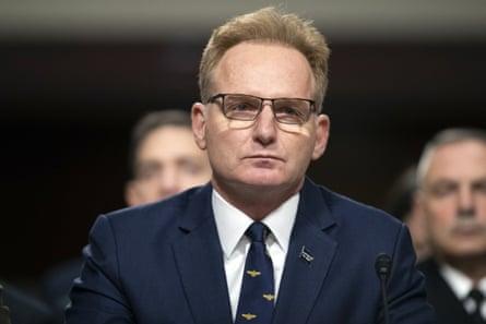 Thomas Modly, acting US navy secretary, in December.