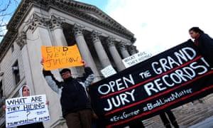 eric garner grand jury records