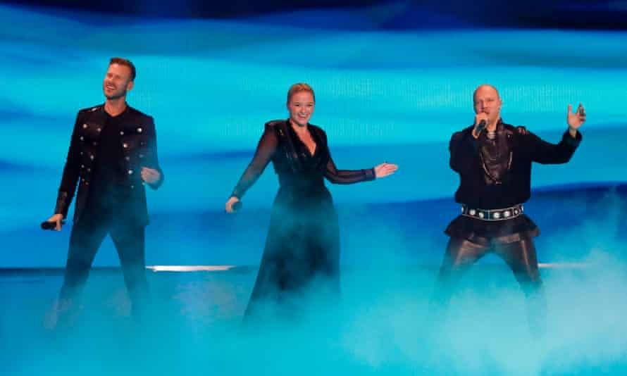 Norway's Keiino perform.