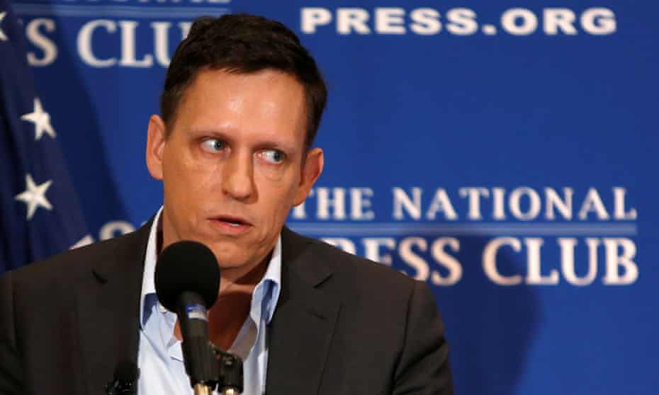 Throughout the speech, and during a later question-and-answer session, Peter Thiel glossed over some of Trump's most prominent and controversial statements.