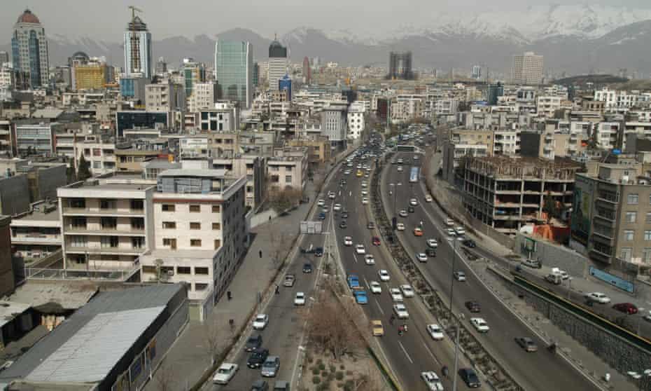 Tehran's 12 million population still favour taxis as a main form of public transport.