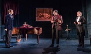 Jacob Fortune-Lloyd as Jack, Fehinti Balogun as Algernon and Geoffrey Freshwater as Lane