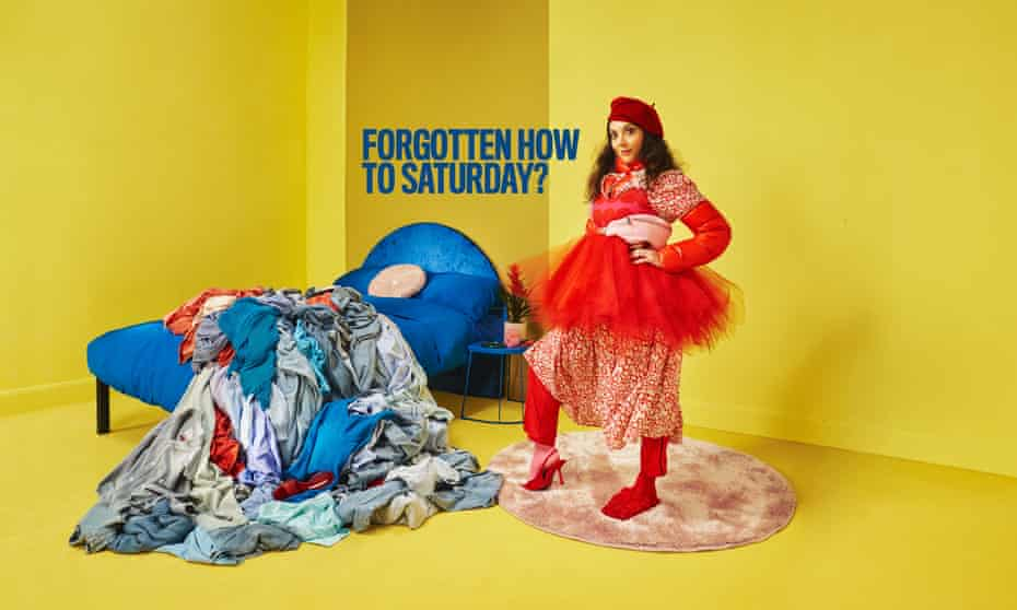 Forgotten how to Saturday?