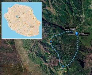 Cyril's route