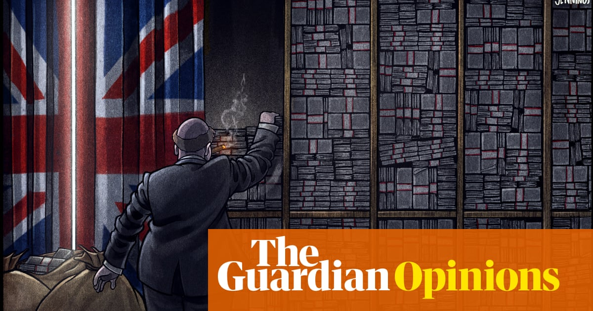 Ben Jennings on the Pandora papers and Insulate Britain – cartoon