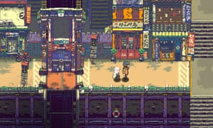 A humble game with a big ambition ... Pixpil's Eastward.