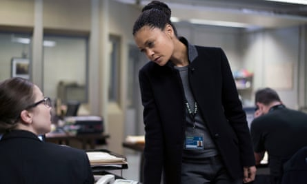 Thandie Newton as Detective Chief Inspector Roz Huntley in Line of Duty.