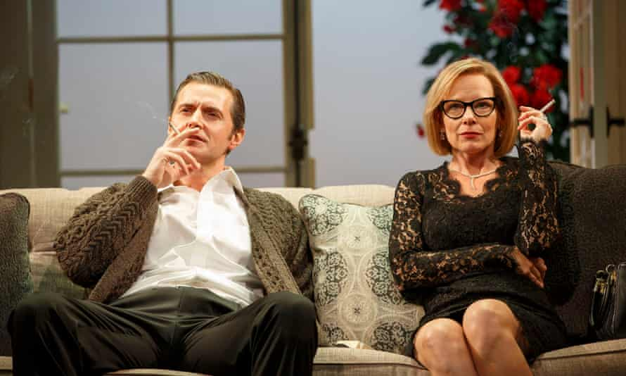 Up in smoke: Richard Armitage and Amy Ryan in Love, Love, Love