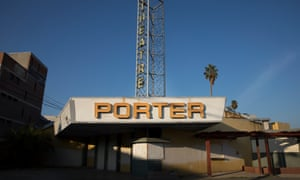 The old Porter theatre in Porterville.