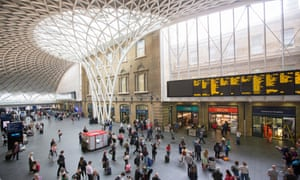 King's Cross is one of many London stations maintained by Interserve.
