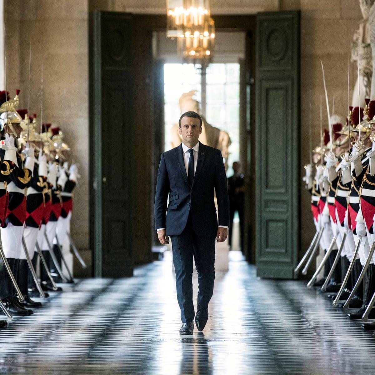 Emmanuel Macron Vows To Transform France In Versailles Speech Emmanuel Macron The Guardian
