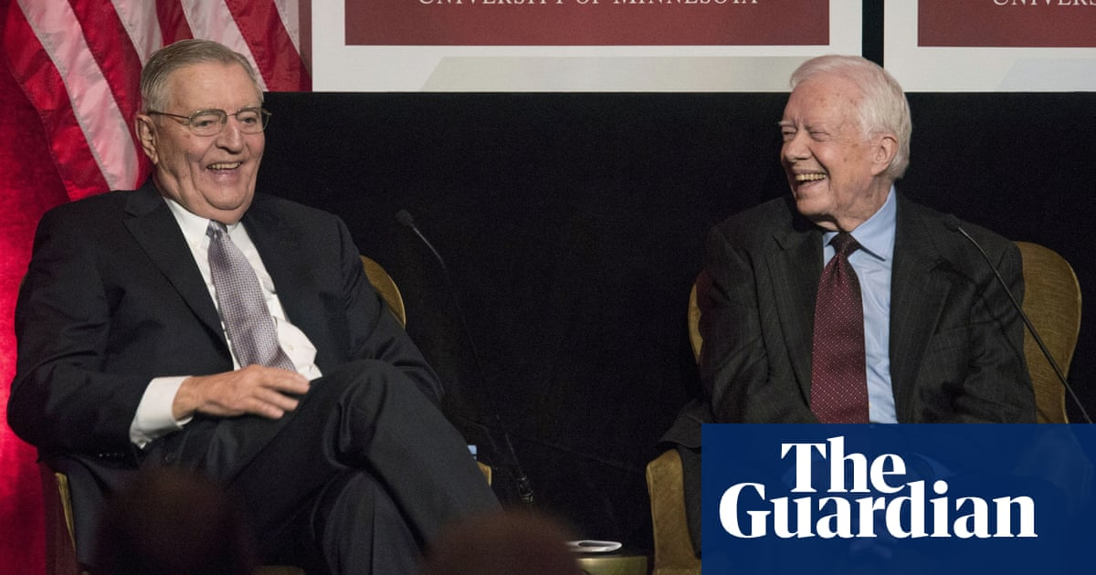 Walter Mondale, former US vice-president and celebrated liberal, dies aged 93