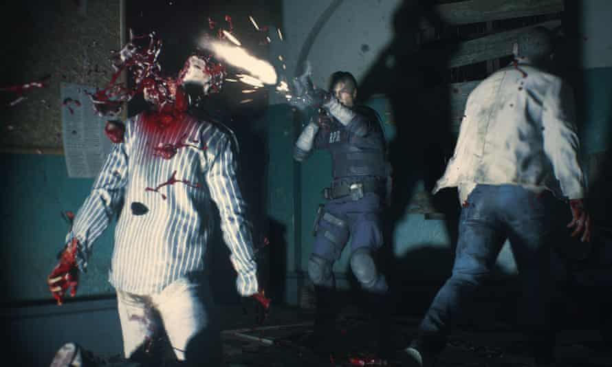 The updated visuals, courtesy of the new engine that powered Resident Evil 7, are icky and gruesome.