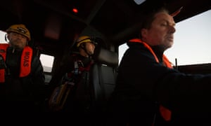 Members of the Moas rescue team