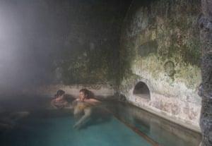 Bormio's Roman thermal spa.