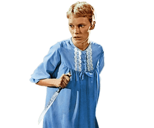 Doris Day meets horror … Mia Farrow in Rosemary's Baby (1968).
