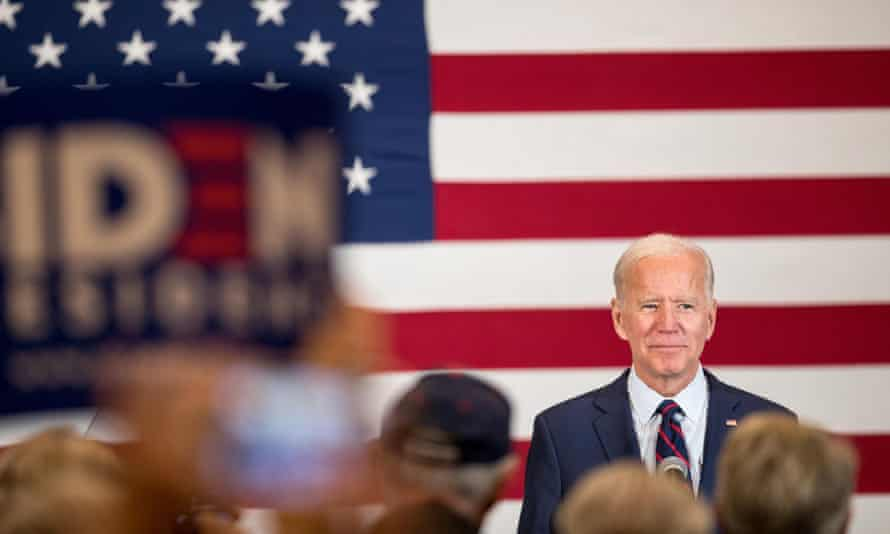 Joe Biden is the Democratic party's presumptive nominee to face Donald Trump in November's presidential election.
