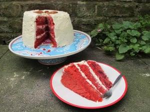 Felicity Cloake's perfect red velvet cake.