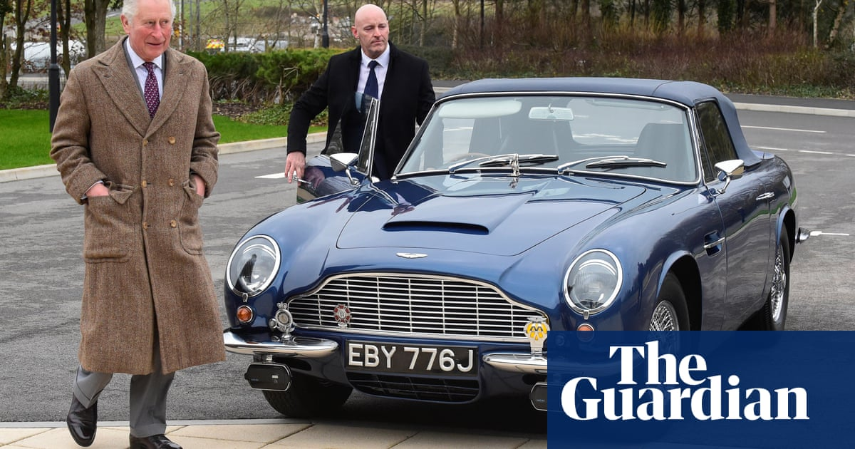 Prince Charles reveals his car runs on cheese and wine byproducts