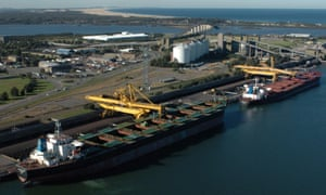 Coal ships