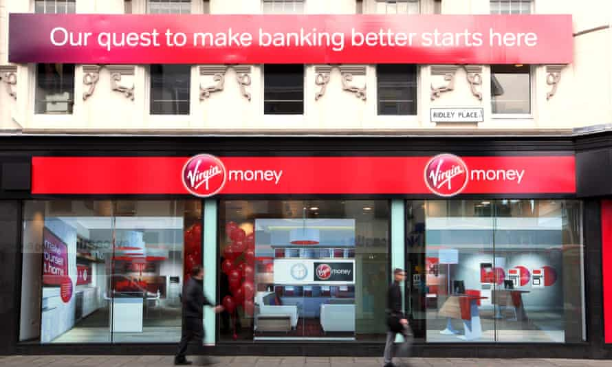 A Virgin Money branch in Northumberland Street, Newcastle