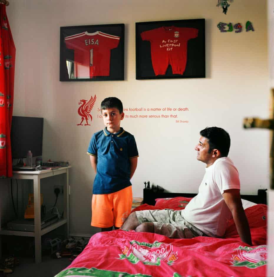 Single Parent Father Nav Mirza with Eisa