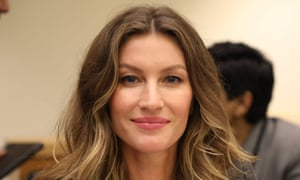 Gisele Bündchen at a meeting at the UN headquarters in 2017