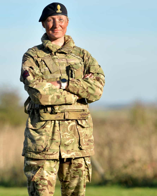 Second lieutenant Maddie Hudson, Royal Engineers.