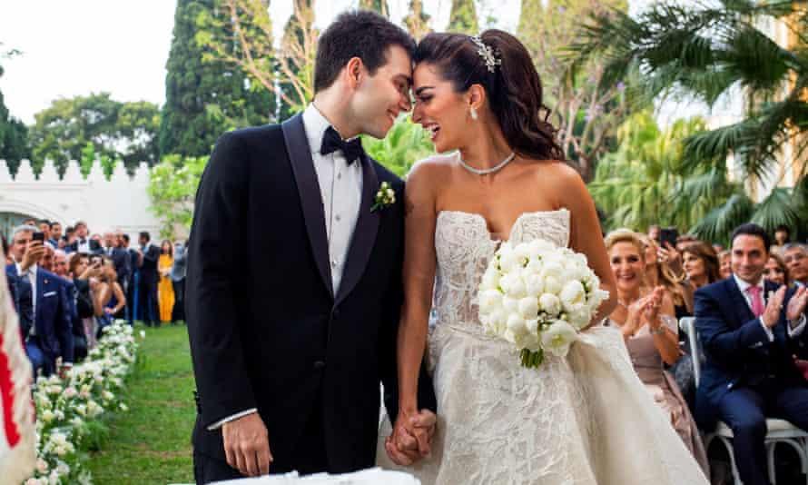 The civil wedding ceremony of Abdallah Salam and Marie-Joe Abi-Nassif.