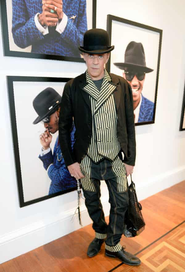 Judy Blame at Somerset House in London in 2014.