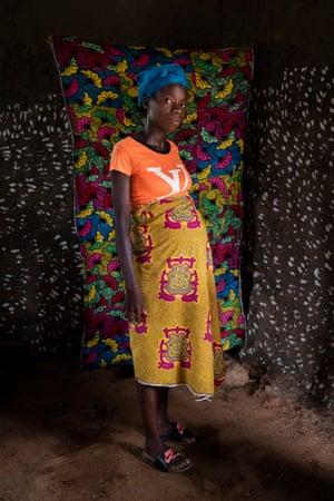 Tomar Joe, 27, in Morris Town, Rivercess county, Liberia