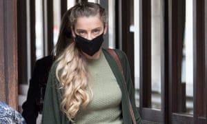 Whitney Henriquez arriving in court on 23 July.