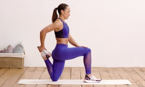 Jessica Ennis-Hill doing a workout