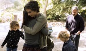 A scene from Beautiful Boy.