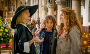 Girlfriends … Miranda Richardson, Zoë Wanamaker and Phyllis Logan.