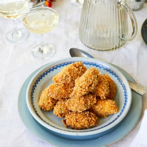 Prawn croquettes New Year's Eve Nieves Barragán Mohacho OFM December 2018 Observer Food Monthly
