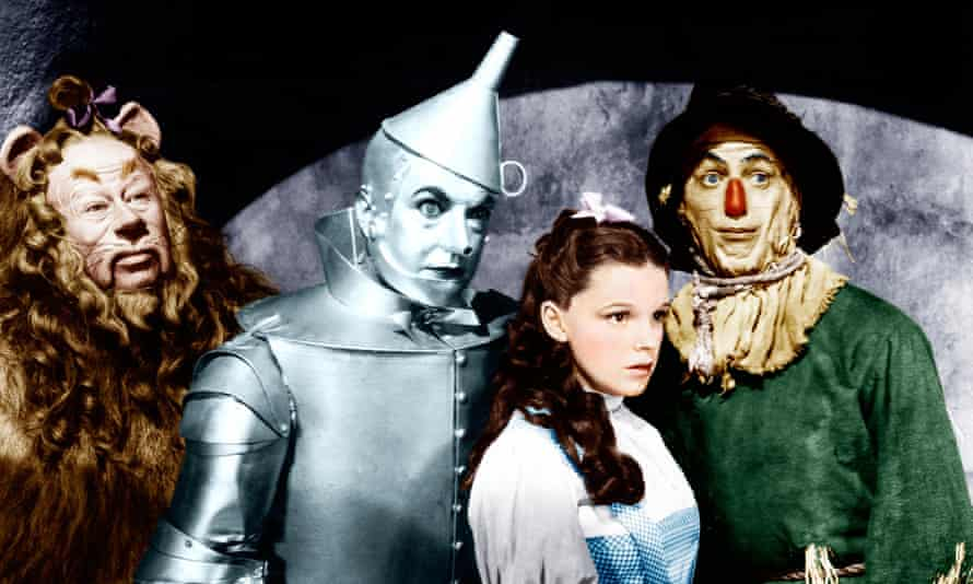 Just an illusion? … Judy Garland in the 1939 musical The Wizard of Oz.
