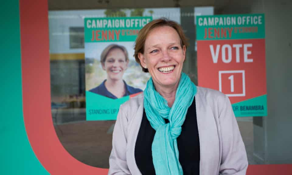 Jenny O'Connor, independent candidate for Benambra, is challenging Liberal MP Bill Tilley at the Victorian election.