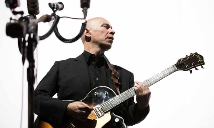 Matt Johnson of The The performing at the Royal Albert Hall.