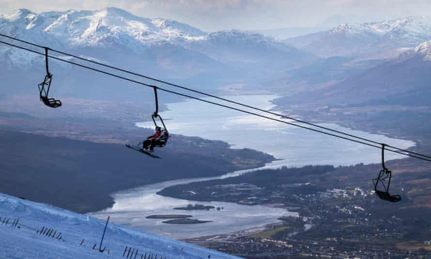 Some skiers are still enjoying decent conditions in Scotland, but the strain on emergency services may soon see resorts there close.