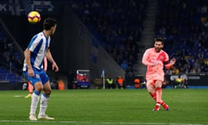 Lionel Messi does it again from a free-kick.