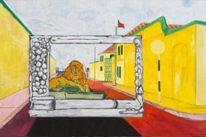 Peter Doig Jasmine Thomas Girvan Chris Ofili Review
