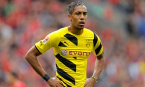 Arsenal confident of signing Pierre-Emerick Aubameyang after