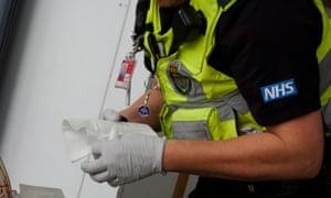 London Ambulance Service paramedic